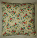 "Cushion Cover in Cath Kidston Clifton Rose White 14"" 16"" 18"" 20"""